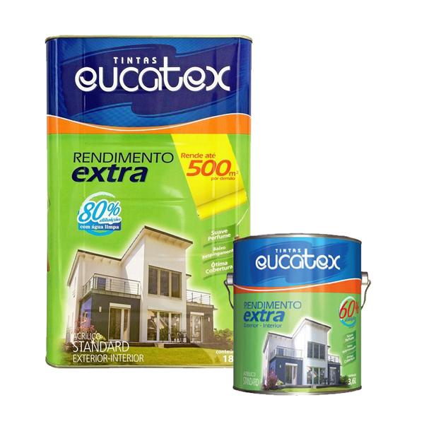 Tinta Acrílica Rendimento Extra Eucatex