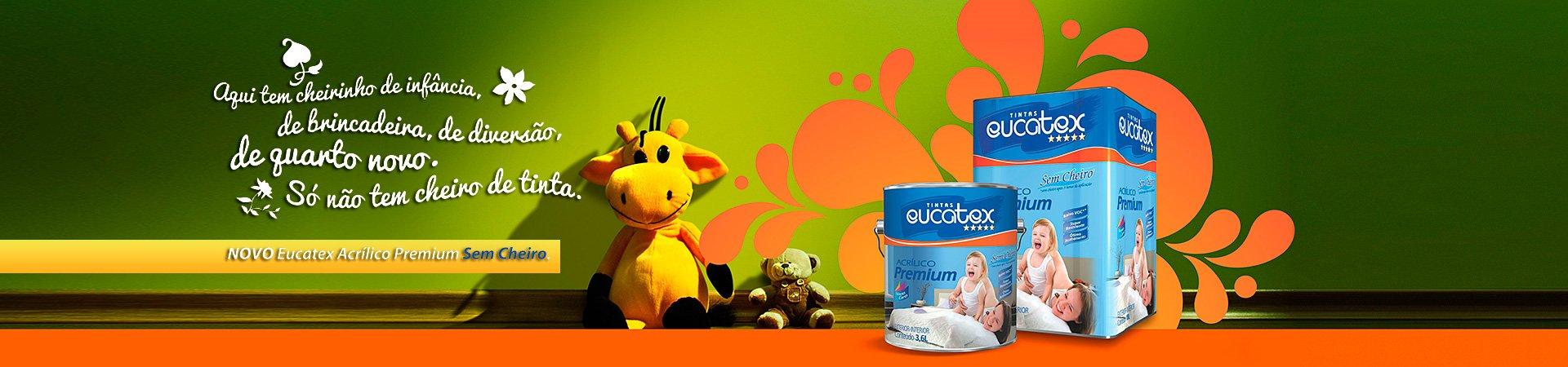 Banner de Imagens - Novo Eucatex Acrilico Premium sem cheiro