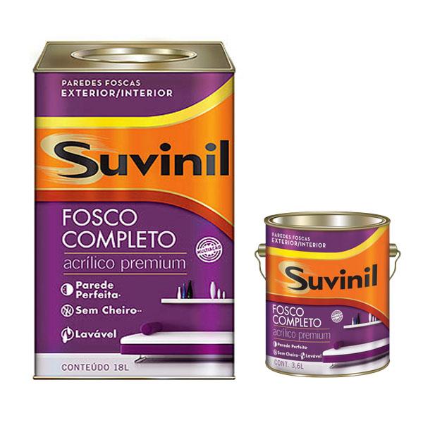 Tinta Acrílica SUVINIL – Premium – Fosco Completo