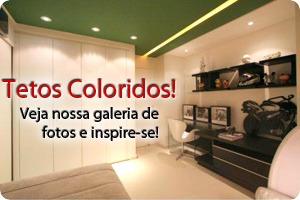 Casashowtintas - Exemplos depintura em tetos, tetos coloridos com as tintas da Casashow