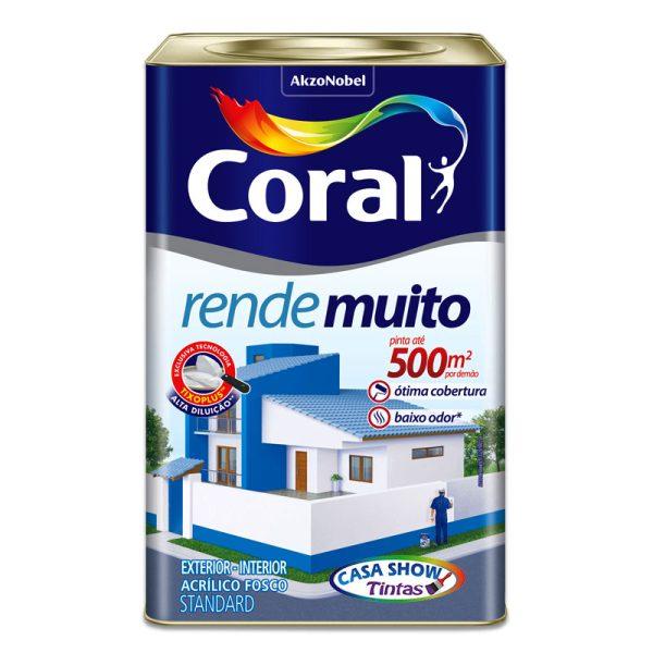 tinta coral standard acrilico rende muito 18L