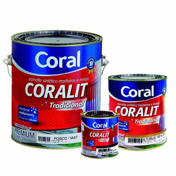 Esmalte Sintético Tradicional Coralit Coral