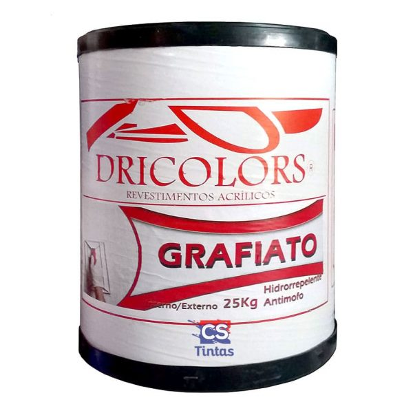 grafiato efeito para parede dricolors cs tintas