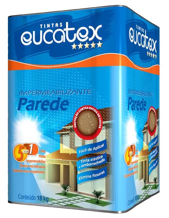 Impermeabilizante para Parede 5 em 1 Eucatex – Lata 18L