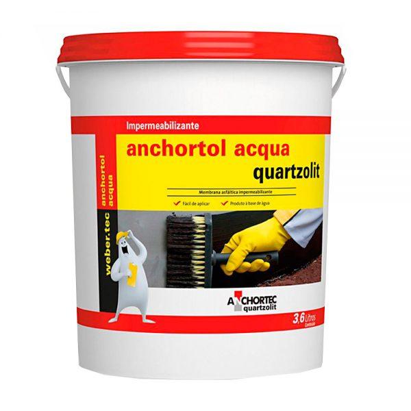 impermeabilizante anchortol anchortec acqua quartzolit 36l