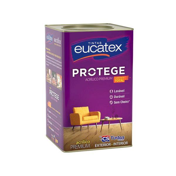 latex acrilico eucatex protege lavavel lata 18 litros