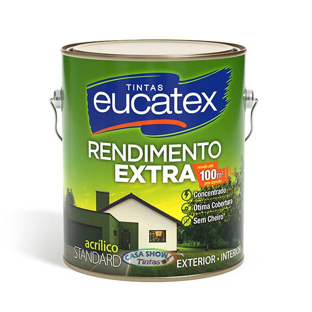 Tinta Acrílica Rendimento Extra Eucatex – Galão 3,6L