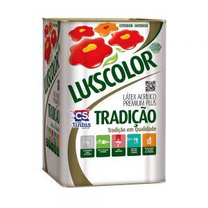 Látex Premium Plus Lukscolor Tradição 18L – BRANCO