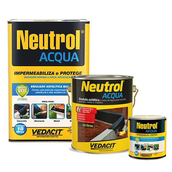 Impermeabilizante Neutrol Acqua Vedacit 18L