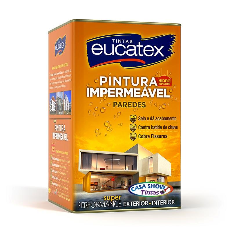 Pintura Impermeável Paredes Eucatex – Lata 18L