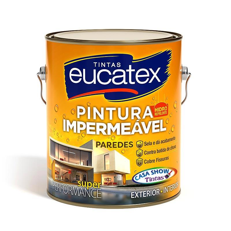 Pintura Impermeável Paredes Eucatex – Galão 3,6L