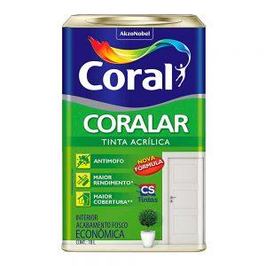 Tinta Acrílica Coralar Coral Econômica 18L