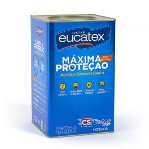 Tinta Emborrachada Impermeabilizante Eucatex Máxima Proteção – 18L